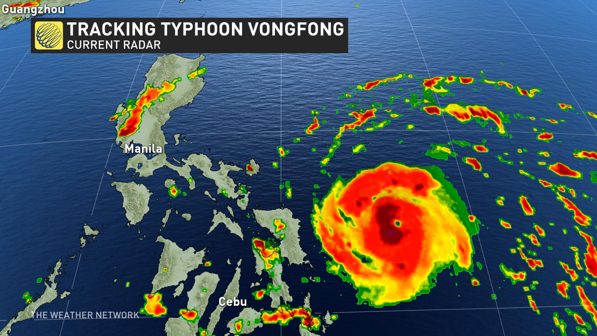 Typhoon forces 140,000 from homes in virus-hit Philippines