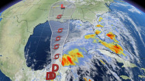 Cristobal weakens, but will re-strengthen as it poses a threat to U.S. coast