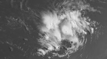 Tropical Storm Dorian marches onward toward the Caribbean