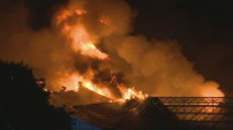 Firefighters still battling smoke, hot spots at St. Catharines flower farm
