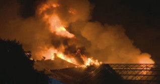 St. Catharines residents to 'shelter in place' due to major fire