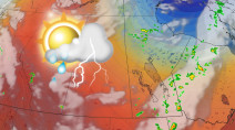 Severe storm potential endures into the weekend on the Prairies