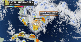 Chances increase for tropical system off Florida, eyes on Canadian impact