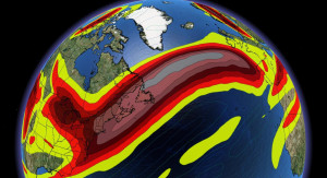 'Beast of a jet stream' a big boost to flights Wednesday