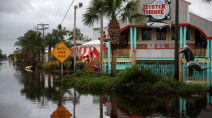 PHOTOS: Latest as Sally weakens to tropical depression, flooding U.S. Gulf Coast