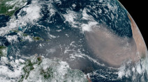 'Godzilla' dust storm may have a connection to low Arctic sea ice