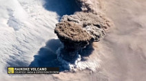 Massive volcanic eruption sends ash streaming toward North America