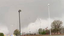 Cleanup underway after tornado rips through Jonesboro, Arkansas, injuring 6