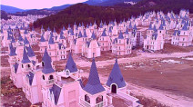 Photos: Rows of abandoned Disney-style castles in Turkey