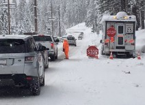 Parts Of California Buried In Nine Feet Of Snow