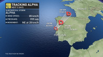 There goes Alpha: On to the Greek alphabet for Atlantic hurricanes