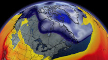 Intense polar vortex causes Canadian weather to grind to a halt