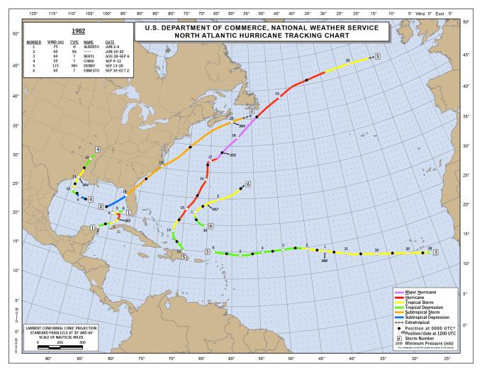 The Weather Network - Atlantic hurricane season hasn\'t been this ...