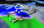 Atlantic: Heavy snow, strong winds from inbound Atlantic system